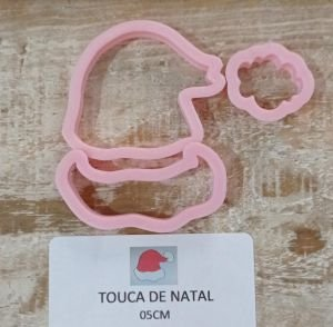 Cortador 3D Tema Natal Touca