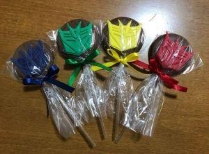 Cortador 3D Símbolo Transformers 5 cm