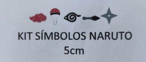 Cortador 3D Símbolo Naruto 5 cm