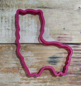 Cortador 3D Silhueta da Lhama 9 cm
