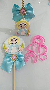 Cortador 3D Santa Para Decorar Santinha Religião