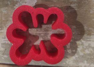 Cortador 3D Pingo de Tintas Splash Slime 3 cm