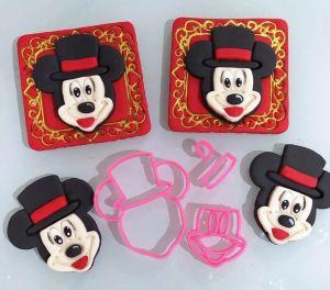 Cortador 3D Mickey Mágico