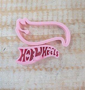 Cortador 3D Logo Hot Wheels