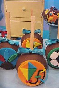 Cortador 3D Kit Brinquedos 10x1  balão, cavalo de balanço, trenzinho, peão, catavento, avião, carro, bola, peteca, pipa