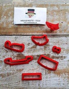 Cortador 3D Cabeça Mágico 5 cm