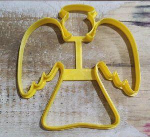 Cortador 3D Anjo 11 cm