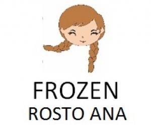 Cortador 3D  Rosto Ana Frozen 5 cm