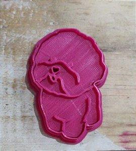 Cortador 3D  Poodle 6 cm