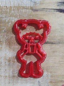 Cortador 3D  Palhacinha 6 cm