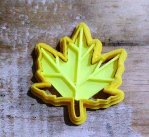 Cortador 3D  Folha de Platono 3 cm