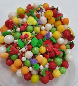 Confeitos/ Sprinkles de Frutinhas