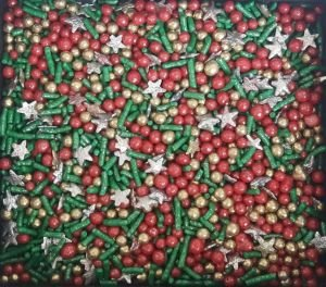 Confeitos/ Sprinkles Coloridos de Natal V