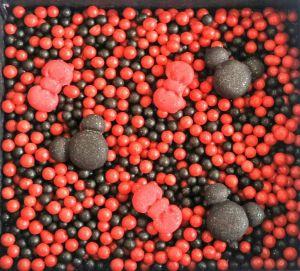 Confeitos/ Sprinkles Coloridos da Minnie- Vermelho