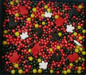 Confeitos/ Sprinkles Coloridos do Mickey