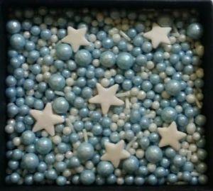 Confeitos/ Sprinkles Coloridos Baby Boy