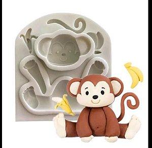 Molde de Silicone Macaco / circo / safari