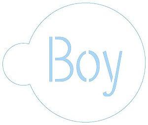 STENCIL CONFEITARIA - BOY