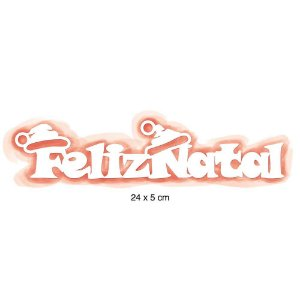 STENCIL ART BARRA 2 NATAL - FELIZ NATAL