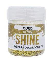PÓ PARA DECORAÇÃO OURO 5G SHINE