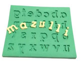 Molde de silicone Letras / Alfabeto Minúscula
