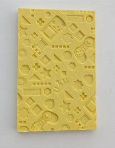 Molde de silicone Textura Jogos