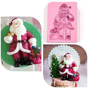 Molde de silicone Natal / Papai Noel