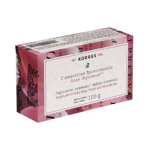 Sabonete Cremoso Rosa Japonesa Korres 100g