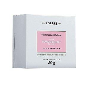 Sabonete de limpeza facial Pomegranate Korres  80g
