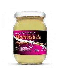 Manteiga Arginina e Colágeno Soft Hair 220g