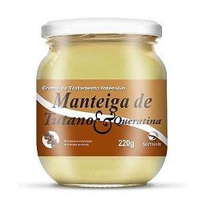 Manteiga de Tutano e Queratina SoftHair 220g