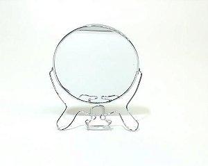 Espelho de mesa dupla face