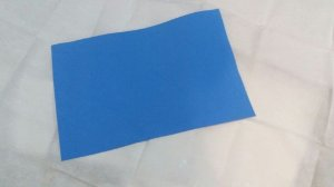 Pacote 10 un. E.V.A.  Azul - Liso