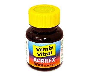 Verniz Vitral Acrilex - Vermelho Fogo