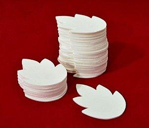 Folha do Crisântemo - branco