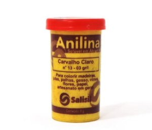 Anilina - Carvalho Claro nº 13 - 03 gr/l