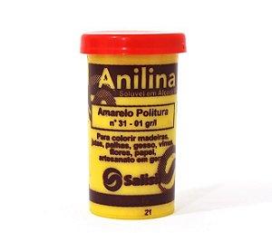 Anilina - Amarelo Politura nº 31 - 01 gr/l