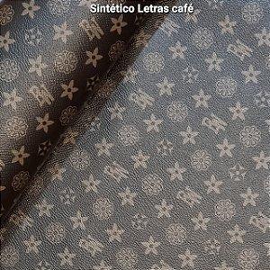 SINTÉTICO LETRAS CAFÉ
