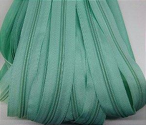 Ziper de Metro n°5  Verde Jade