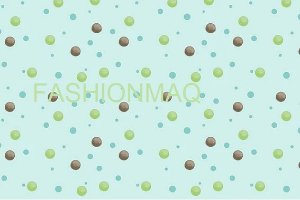 Tecido Bolas Safari coloridas Acqua Digital