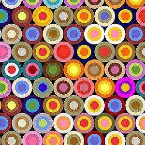 Tecido Bolas coloridas