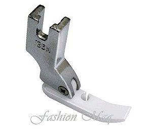 Calcador Ziper Direito Reta Industrial Teflon