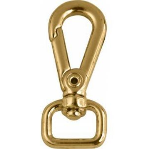Mosquetão Dourado base 11mm COD CH055-11