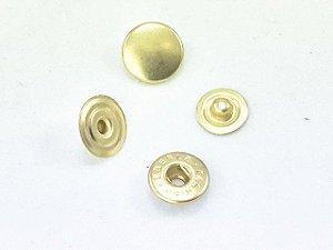 Botão Colchete Nº 14 Latonado (dourado)