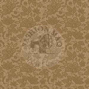 TECIDO FABRICART RENDA CAFÉ COM LEITE ROTATIVO 100% algodão