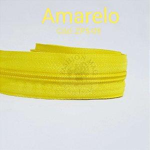 Ziper de metro n°5 Amarelo