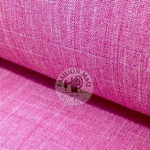 LINHO CLASSIC ROSA CHICLETE 50CM POR 1,50 DE LARGURA