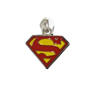 CURSOR DE ZIPER Nº 5 DO SUPER MAN PRATA