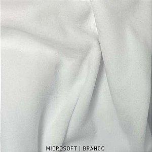 TECIDO MICROSOFT BRANCO 0,50 X 1,50