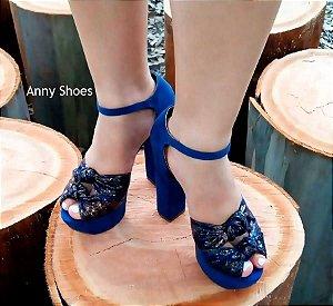 Sandália Blue Top